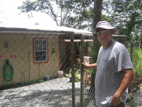Danny Rodriguez, 38, built his home in Adjuntas, Puerto Rico. But the government wants to build a natural gas pipeline through his property. He's concerned about the risk of living next to a  pipeline in a seismically active area.