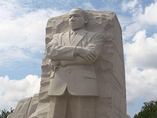 The Martin Luther King Jr. Memorial opened to the public on Monday. It will be officially dedicated on Sunday.