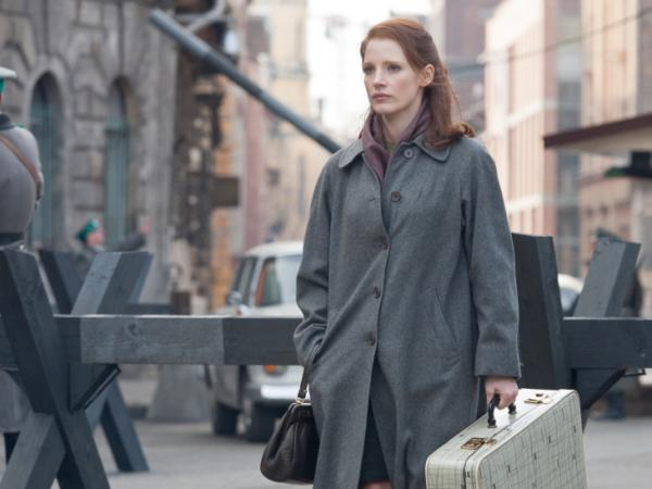 Jessica Chastain plays an Israeli secret agent who lures in a Nazi war criminal in director John Madden's film<em> The Debt.</em>