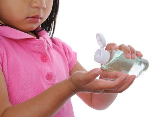 Researchers have found that when bottles of sanitizer and wipes were kept around schools and students were cued to use them, they ended up missing significantly fewer days due to stomach bugs.