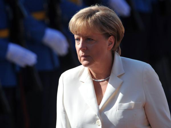 German Chancellor Angela Merkel on Wednesday (Aug. 23, 2011) in Belgrade.