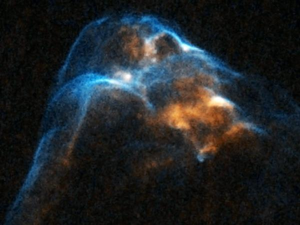 Stop-motion videos show footage of star formation.