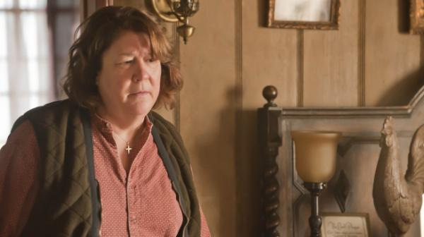 "Margo Martindale is Mags Bennett, a charmingly villainous moonshiner in the FX series <em>Justified</em>. For her performance, Martindale drew on her roots in East Texas and Kentucky. ""It's all part of my makeup. It's something I really understand,"" she says."
