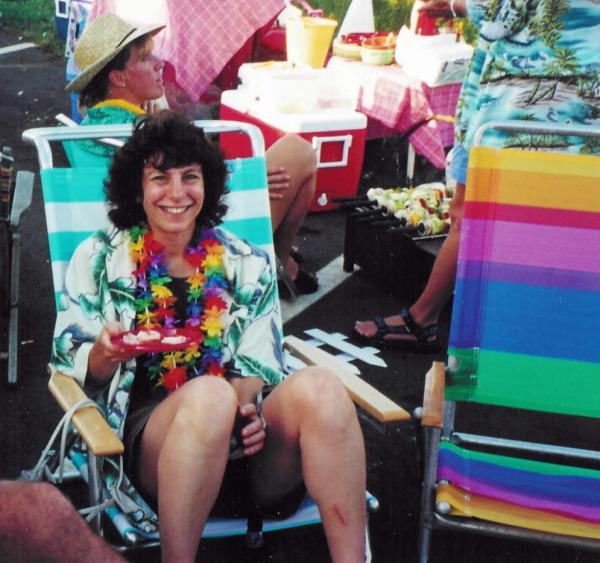 Judy Larocque attended a Jimmy Buffett concert in the summer of 2001. Larocque was on the first plane that hit the World Trade Center on Sept. 11, 2001.