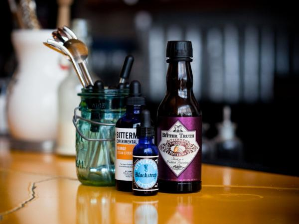 Phosphates and bitters, a  mixture of herbs steeped in  alcohol, are part of the revival of old-timey soda  fountain drinks at places like PS7's in Washington, D.C.