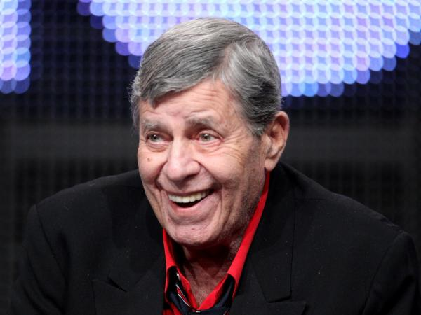 Jerry Lewis, shown here in July, was dropped from the MDA Labor Day Telethon for reasons that are still unclear.