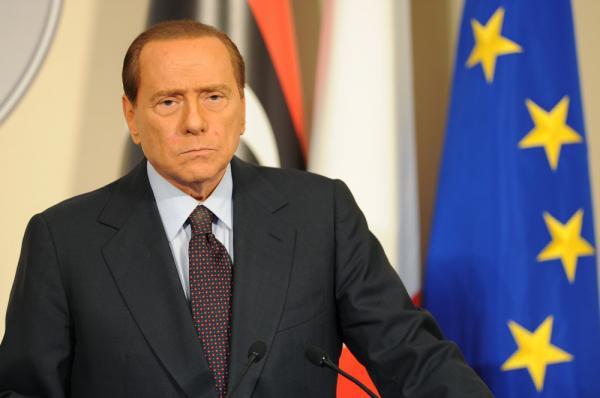 Italian Prime Minister Silvio Berlusconi.