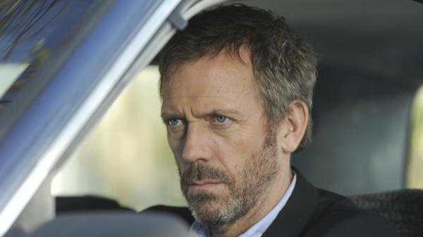 Hugh Laurie, seen here playing Dr. Gregory House on <em>House</em>, has a new project.