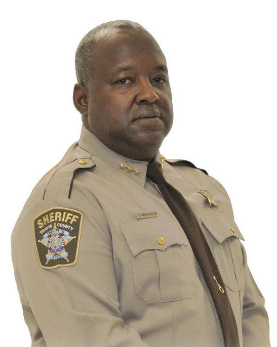 Sheriff Greg Hamilton runs the Travis County Jail in Austin, Texas.