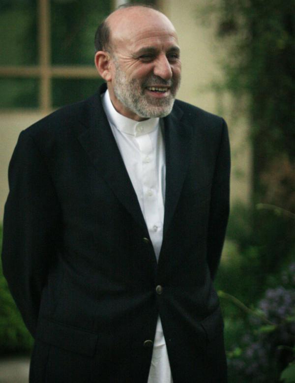 Umar Daudzai is Afghanistan's chief negotiator with the Taliban.