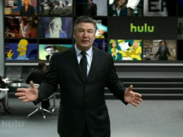 A large-scale promotional campaign launched by Hulu during the 2009 Super Bowl featured Alec Baldwin as a spokesperson.