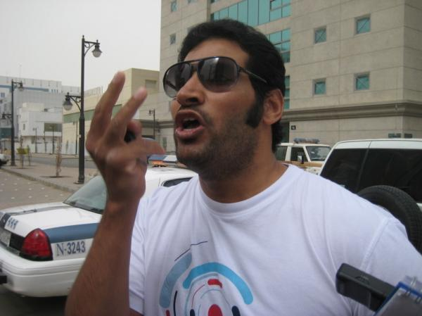 Schoolteacher Khalid Al Johani, 40, publicly denounced Saudi Arabia as a police state to TV cameras on March 11. He was promptly detained, without charges or a trial, and remains in jail, six months later.