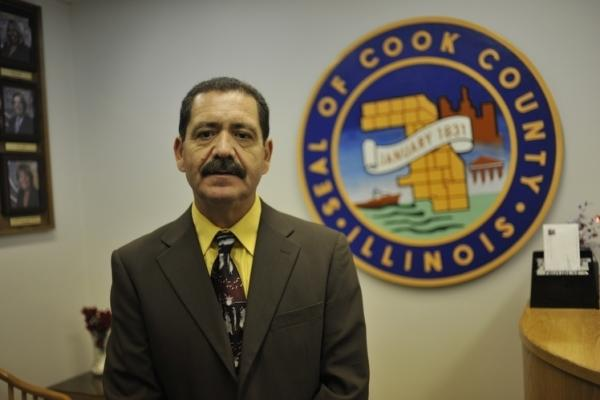 Democrat Jesus Garcia's on Chicago's Southwest Side agrees with the Cook County measure to disregard Immigration and Customs Enforcement's requests to hold inmates two business days beyond what their criminal cases require.
