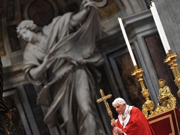 Attorneys for the victims are arguing that individuals such as Pope Benedict XVI (shown here June 29), in his role as head of the Vatican office handling clerical sex abuse cases, bear individual responsibility for knowing about and either failing to prevent or report the crimes.