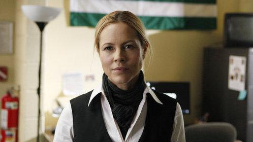 Maria Bello plays Detective Jane Timoney — a revamped version of Helen Mirren's iconic Jane Tennison — in NBC's remake of the British drama <em>Prime Suspect</em>.