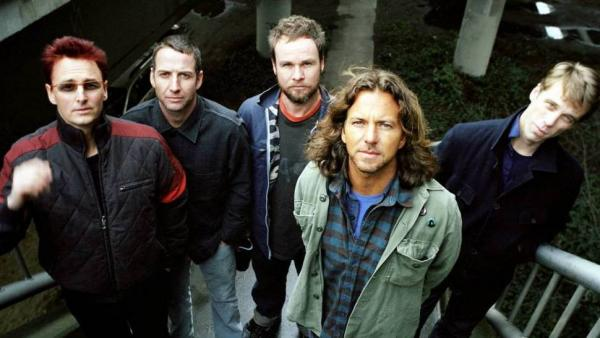 Pearl Jam's two-decade career is chronicled in Cameron Crowe's new film, <em>Pearl Jam 20</em>.