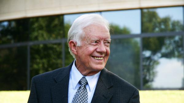 Former U.S. President Jimmy Carter.