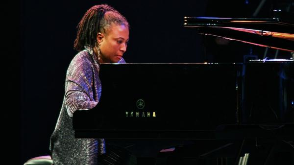 Geri Allen performs on Saturday night of the 2011 Monterey Jazz Festival.