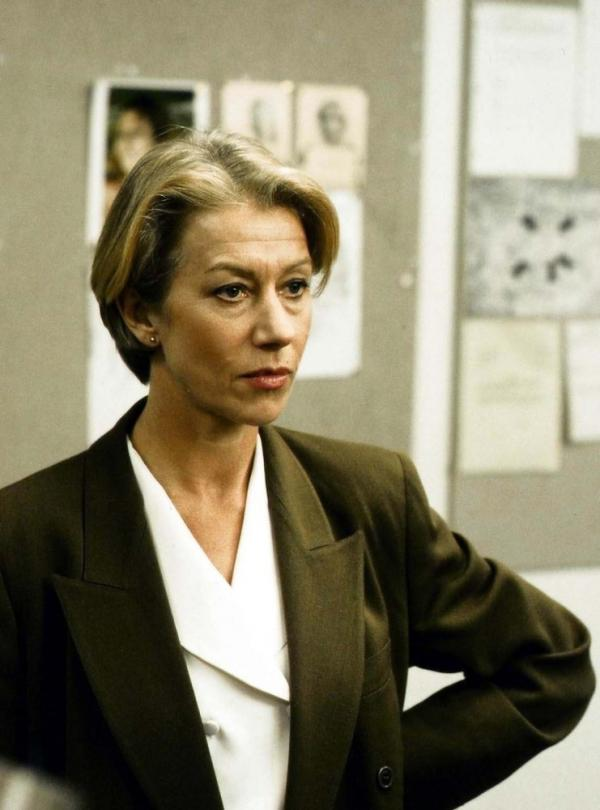 <strong>In the beginning, there were lapels: </strong>Helen Mirren's DI Jane Tennison, circa 1991.