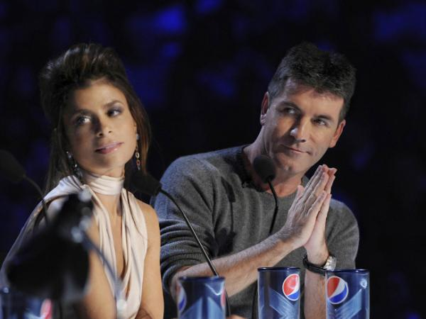Judges Simon Cowell and Paula Abdul are back in the new NBC reality show, <em>The X-Factor.</em>