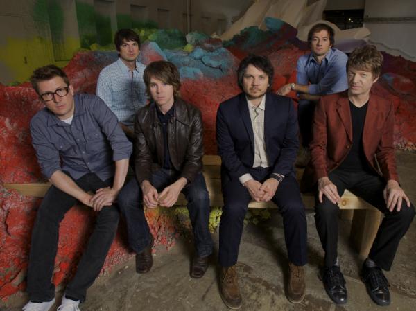 Wilco, from left: Mikael Jorgensen, Glenn Kotche, Patrick Sansone, Jeff Tweedy, John Stirratt, Nels Cline.