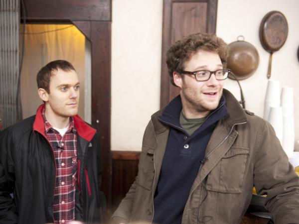 Writer Will Reiser (left) was working as an associate producer on <em>Da Ali G Show</em> when he found out he had cancer.