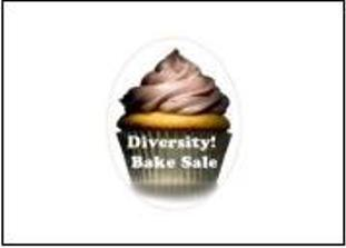 The GOP student's bake sale logo.