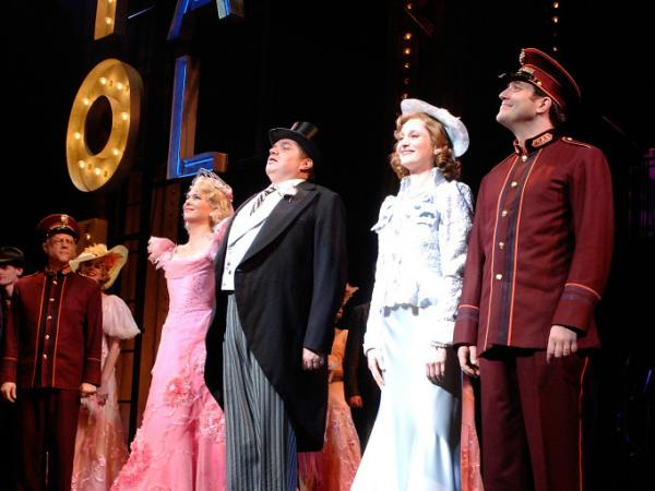 "Opening night for <em>Guys and Dolls</em> on Broadway or, for Frank Deford, ""Guys and Guys."""