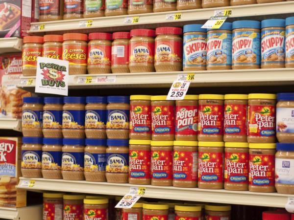 Peanut butter prices are up, and will likely increase again.