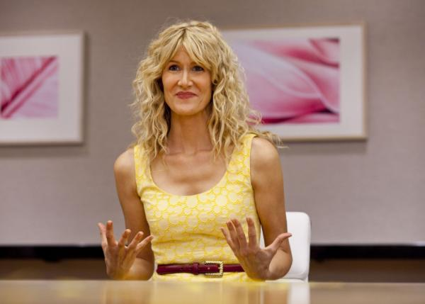 <p>Laura Dern is Amy Jellicoe, a health and beauty executive who returns from a post-meltdown retreat to pick up the pieces of her broken life in the new HBO series <em>Enlightened.</em></p>