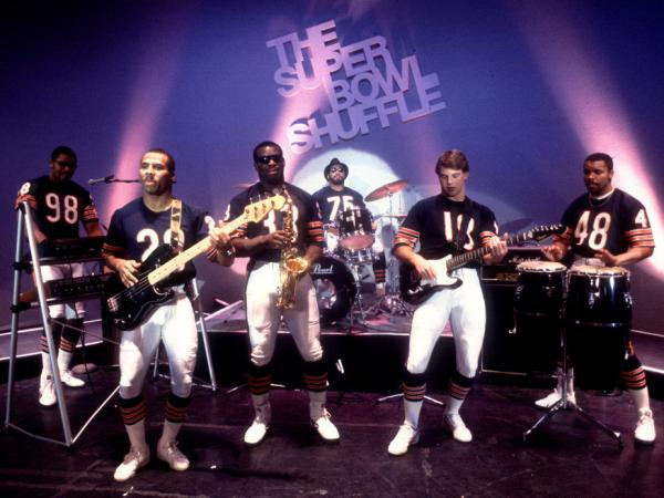 "The Chicago Bears showed some skills off the field and on the stage in 1985 when they recorded the ""Super Bowl Shuffle."""