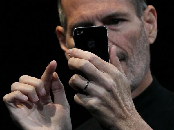 <p>Steve Jobs, seen here in June 2010, passed away Wednesday at 56 after battling cancer for years.</p>
