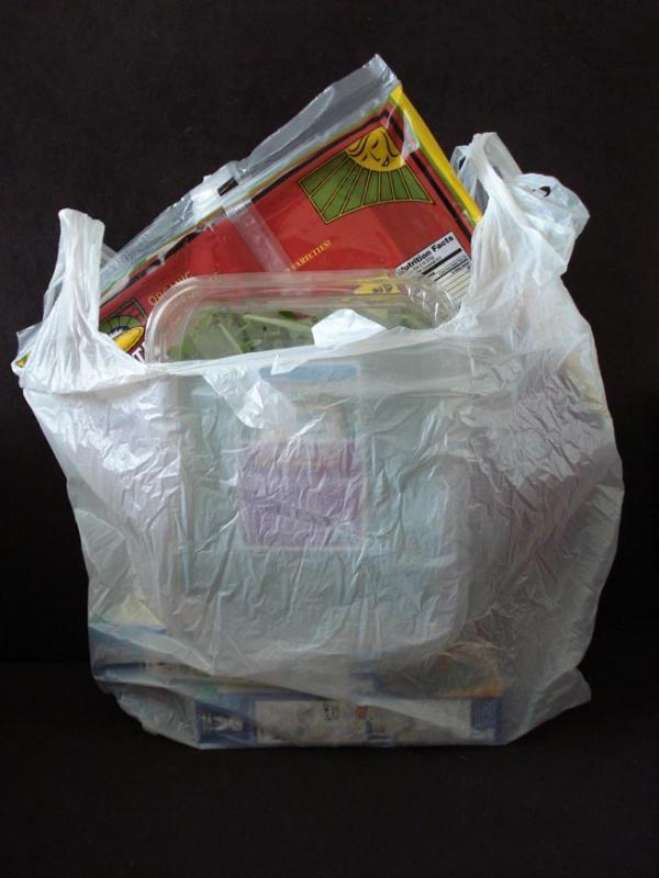Voters from the city of Hailey, Idaho will vote on a proposed plastic grocery bag ban. Photo by Kevin Mooney