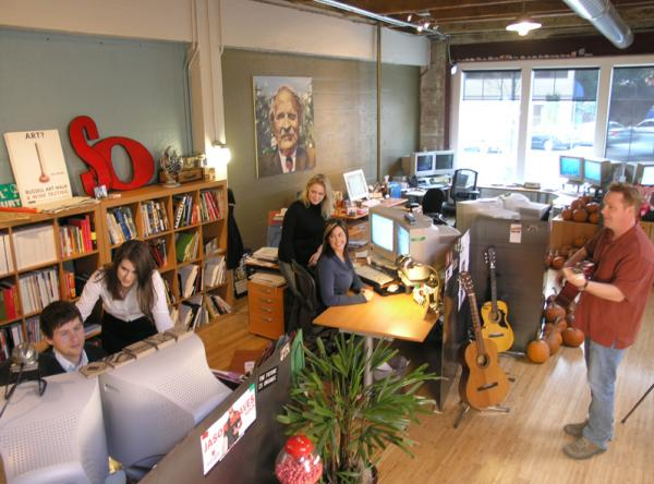 <p>Rusty George Creative laid off more than half of its 17-person staff when clients stopped buying their marketing services as the economy crashed. After a hard look at finances, the small firm is now ready to hire a new employee.</p>