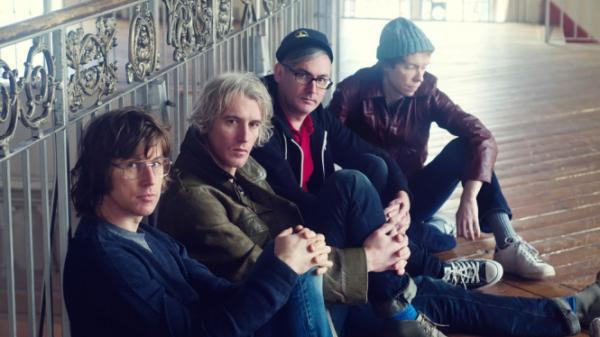 <p>Sloan, in a recent press shot. The band is, from left to right, Chris Murphy (bass), Andrew Scott (drums), Patrick Pentland and Jay Ferguson (both guitarists).</p>