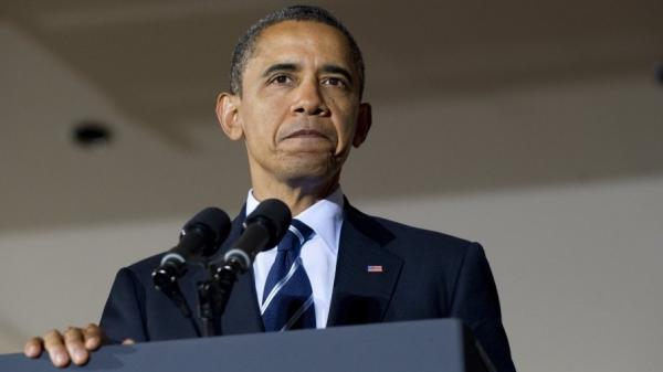 <p>President Obama speaks about job creation and the economy at the International Brotherhood of Electrical Workers Local No. 5 Training Center in Pittsburgh on Tuesday.</p>