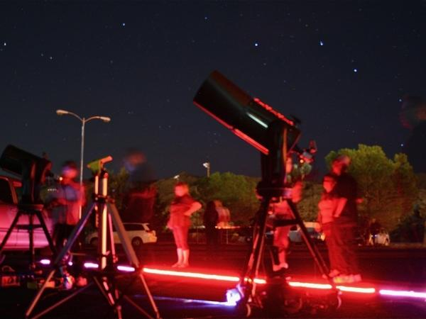 <p> Highly sensitive cameras were set up outside the Yucca Valley Community Center in California recently to capture images from deep space. One of the brightest supernovas in the last century won't be visible to amateur stargazers within the next week.</p>