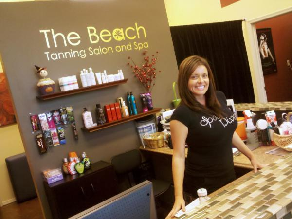 <p>Claudine Dimitriou owns The Beach, a day spa in Phoenix. She was virtually alone in the shopping complex after investing $80,000 to open her business in December. The bet has finally paid off.</p>
