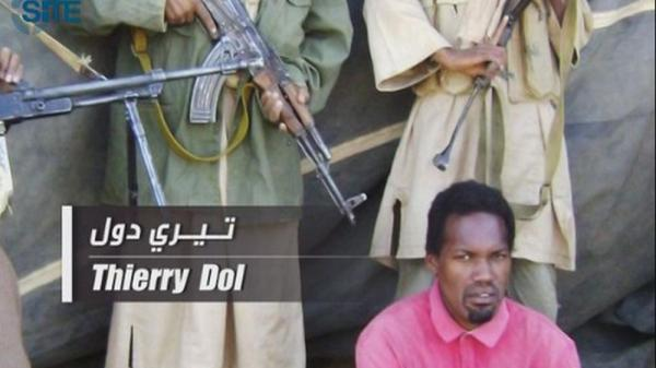 <p>This image released by the SITE Intelligence Group on April 27, 2011 shows Thierry Dol, one of four French hostages held by al-Qaida's north Africa affiliate. U.S. counter-terrorism officials are concerned that al-Qaida affiliates in Africa are growing stronger. </p>