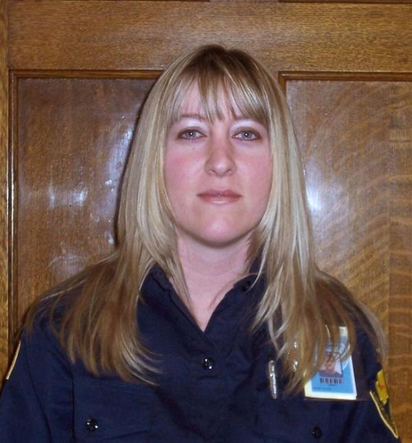 Officer Jayme Biendl was strangled to death in the chapel at the state prison in Monroe on January 29th. Photo courtesy Wash. DOC