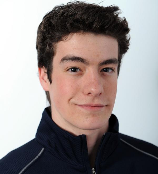 <p>Figure skater Brandon Mroz.</p>