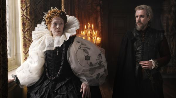 "<p><strong>Strange, even as fiction:</strong> Rhys Ifans (right, with Vanessa Redgrave) plays the 17th Earl of Oxford in <em>Anonymous,</em> a political melodrama inspired by a discredited theory about who ""really"" wrote the plays of Shakespeare.</p>"