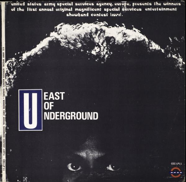 <p>The cover of East of Underground's self-titled LP.</p>