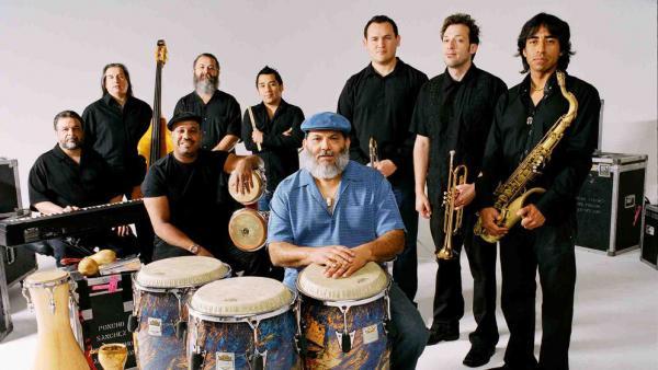 Poncho Sanchez Latin Band.