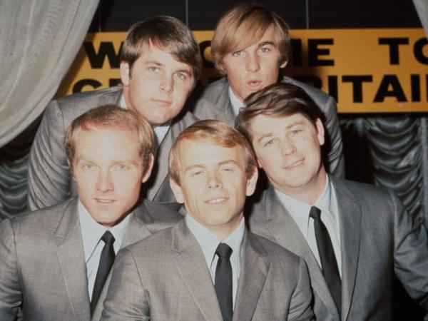 <p>The Beach Boys in 1964: Brian Wilson, Dennis Wilson, Mike Love, Al Jardine and Carl Wilson.</p>