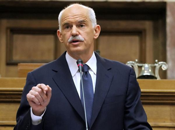 <p>Greek Prime Minister George Papandreou.</p>