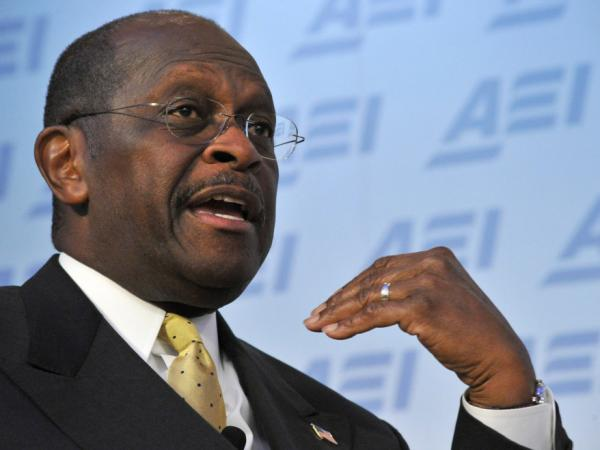 <p>Republican presidential contender Herman Cain on Monday (Oct. 31, 2011) in Washington, D.C. </p>