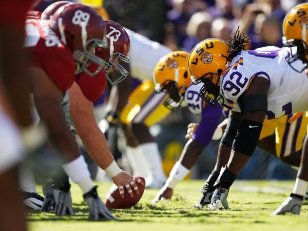 "Saturday's game between No. 1 Louisiana State University and No. 2 Alabama has been called ""the game of the century."" In 2010, LSU beat their SEC rivals, 24-21."