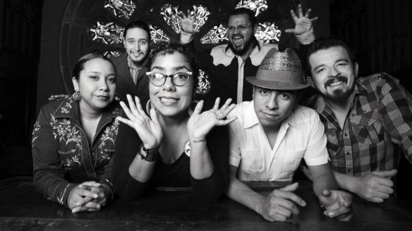 The Los Angeles band La Santa Cecilia is nominated in the Best Tropical Song category at this year's Latin Grammys.