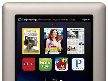 The Nook Tablet has a 7-inch color touchscreen and follows the introduction of Amazon.com's $199 Kindle Fire tablet.